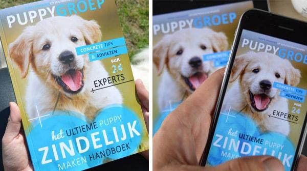 puppy zindelijk maken boek