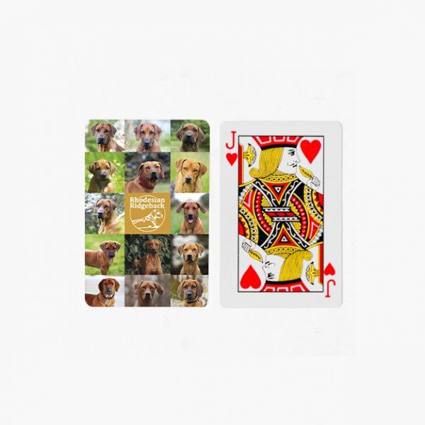 Rhodesian Ridgeback speelkaarten