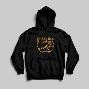 RR hoodie logo groot zwart